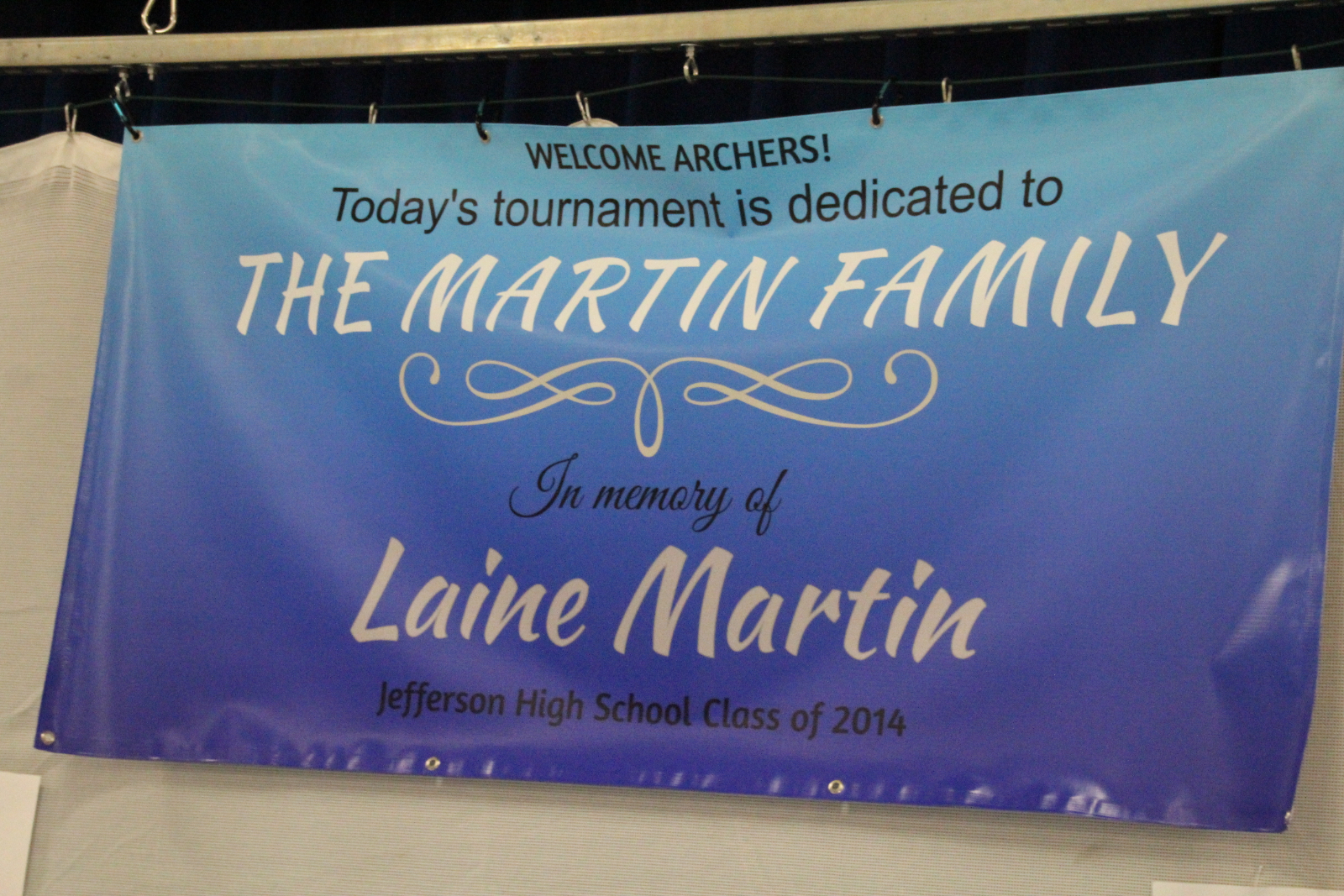 Archery Tournament in Memory of Laine Martin