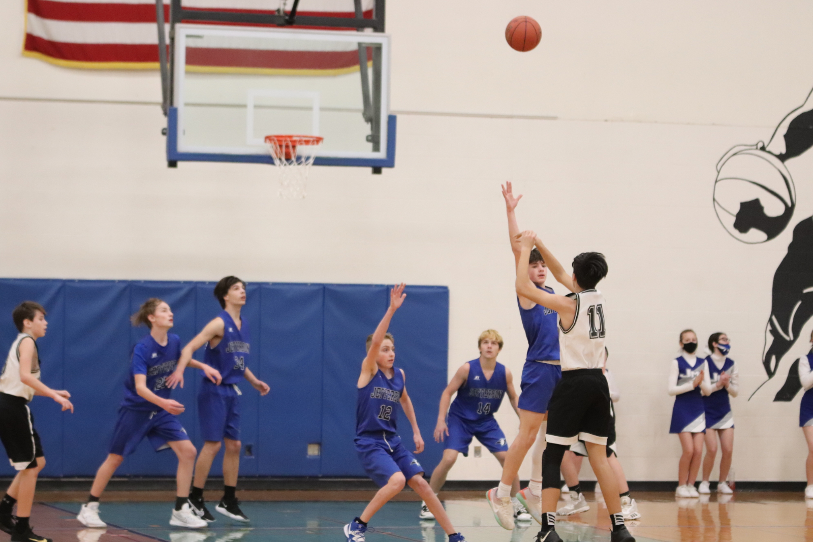 8th Grade Boys' Basketball vs Grandview  1/28/21