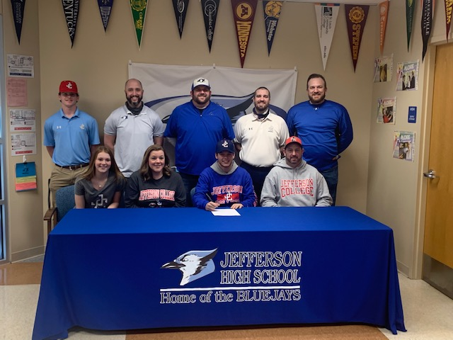Colby Ott Signs to Play Baseball