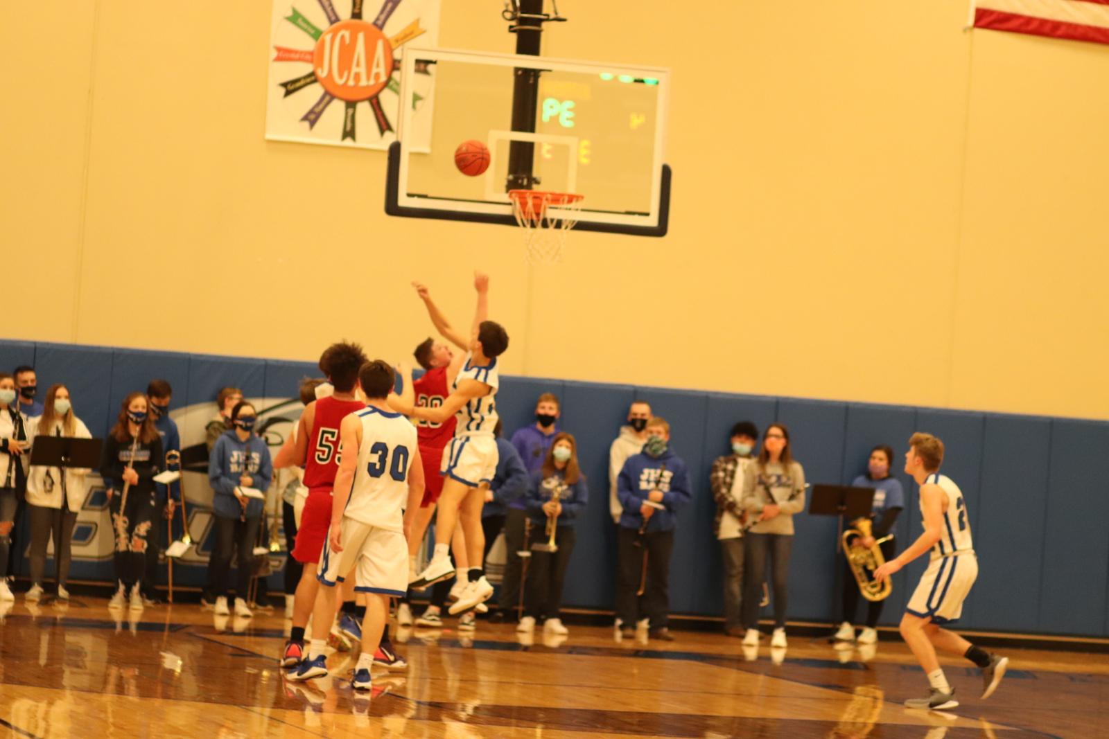 JV Boys' Basketball vs Crystal City 2/5/21