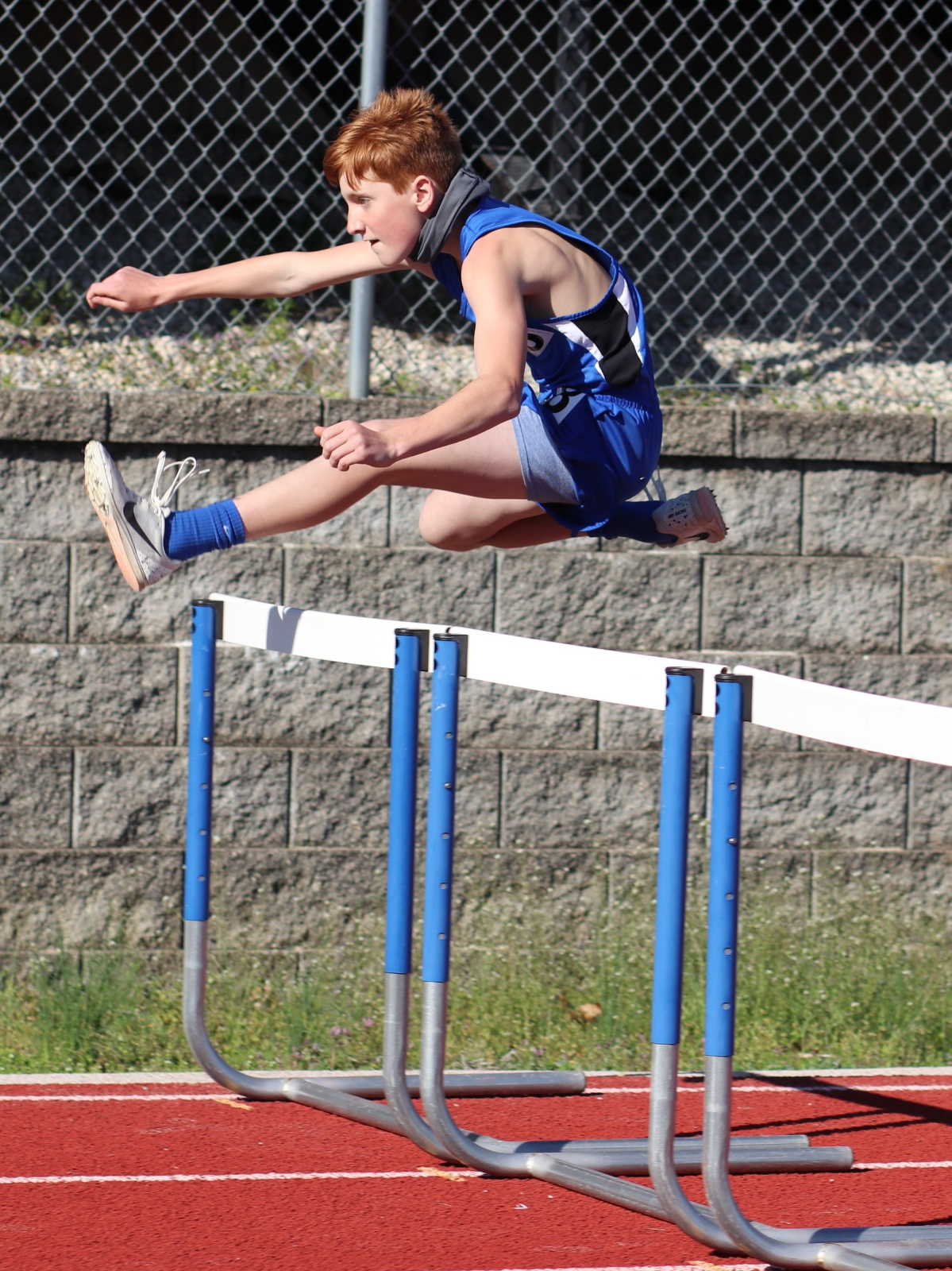 Middle School Track Meet at R-7  March 29, 2021