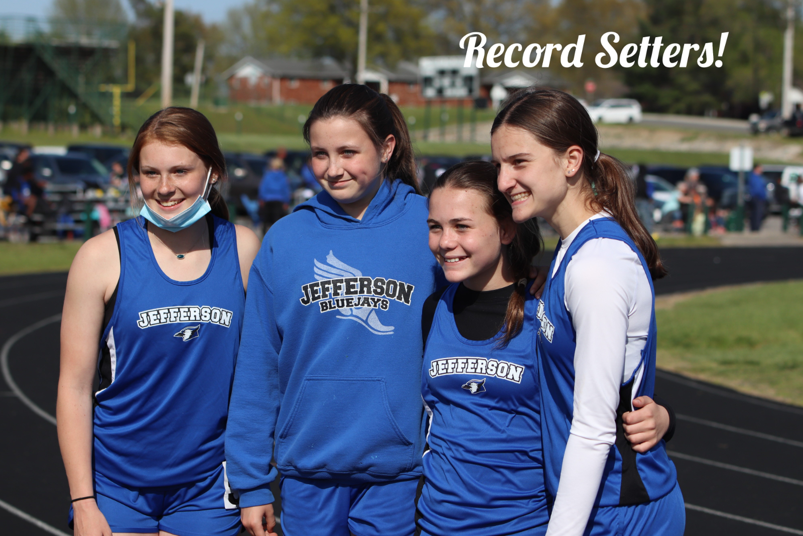 Middle School Track Meet at Perryville 4/22/21