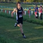 Varsity Cross County competes at Harrier Harvest