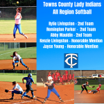 Lady Indian Softball Players Recognized