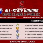 All-State Honors for Boys Basketball