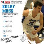 Kolby Moss Named Blitz Sports POY