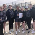 Girls Varsity Golf finishes 1st Place at Region Pre-Season Opener at Fore Lakes