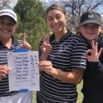 Girls Varsity Golf finishes 1st place at Region Match Hosted by West Jordan at Mountain View