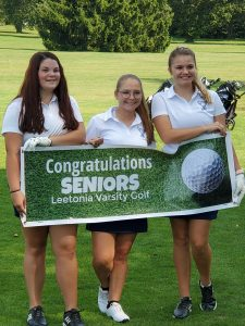 Leetonia Girls Golf Senior Day