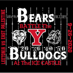 Ticket Plan for Saturday's (9/26/20) game vs East Palestine. Kickoff at 7pm.