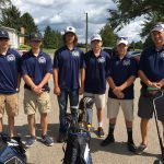 Boys Golf from Sectional Tournament