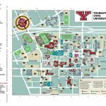 YSU Parking Map for Saturday 9/26/20
