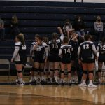 Varsity Volleyball beats Memorial 3 – 0