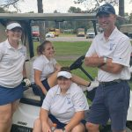 Girls Golf Stats from Sectional Tournament
