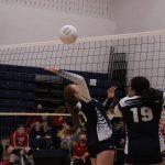 Junior Varsity Volleyball falls to East Palestine Schools 2 – 0