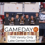 High School Boys Basketball GAMEDAY vs Lake Center Christian School