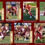 Seven Football Players Earn All-Region Offense Honors