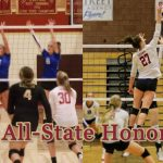 Megan Allred & Emery Harrison Receive 4A Volleyball All-State Honors!!