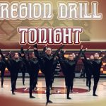 Region Drill Competition Tonight 5 PM!!