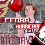 Reds @ Hurricane Tigers Tonight 7:30 PM