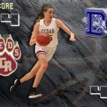 Cedar Reds take down the Flyers 44-41 (Highlights)