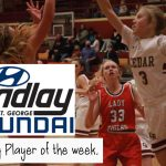 "Braylee Peterson Named ""Player of the Week""!"