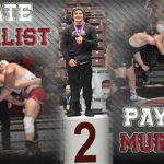 Payton Murray 2nd Place finish at State Wrestling