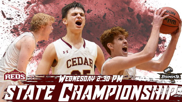 Boys Basketball in the Championship Game tomorrow at 2:30