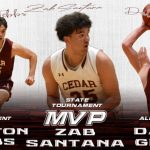 Zab Santana, Treyton Tebbs and Dallin Grant Named to All Tournament Team