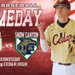 Baseball vs Snow Canyon Today at 3 pm
