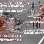 Track and Field Results from Snow Canyon Invitational