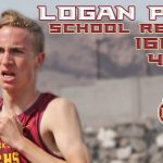 Logan Peel Sets school record in the 1600m