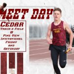 Track Meet @ Pine View Friday and Saturday
