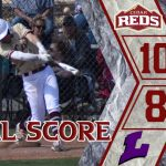 Win Streak extends to 4 games for Reds Baseball