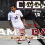 Boys Soccer travels to Desert Hills tonight at 7 pm.  Watch Here