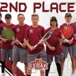 Reds Tennis takes 2nd place at St. George Invitational