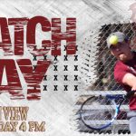 Tennis vs. Canyon View at 4 PM today