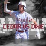 Cedar Reds Host the Dixie Flyers