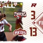 Reds with big victory over the Tigers