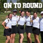 Cedar Reds Girls Golf Team advances to Day 2