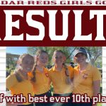 Girls Golf with best finish in school history