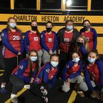 Volleyball Team Plays in Schools First District Match