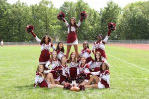 2015 – 16 Cheerleading Team Pictures