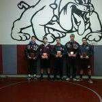 Woodridge High School Boys Varsity Wrestling finishes 5th place