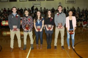 Athletic Hall of Fame Night- January 29, 2016