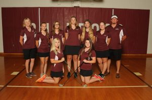 2016 Girls Golf Team Pictures