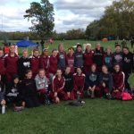 Woodridge High School Girls Varsity Cross Country finishes 1st place