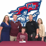 Clare Willett signs with Malone University