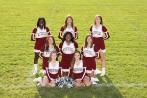 2017 Fall Cheerleading Team Pictures