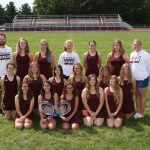 2017 Girls Tennis Team Picture